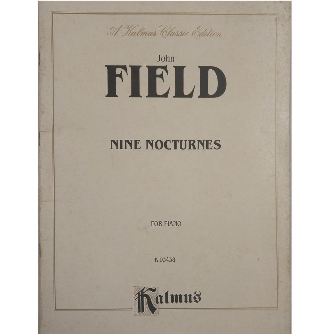 John Field Nine Nocturnes for Piano k03438 - Kalmus