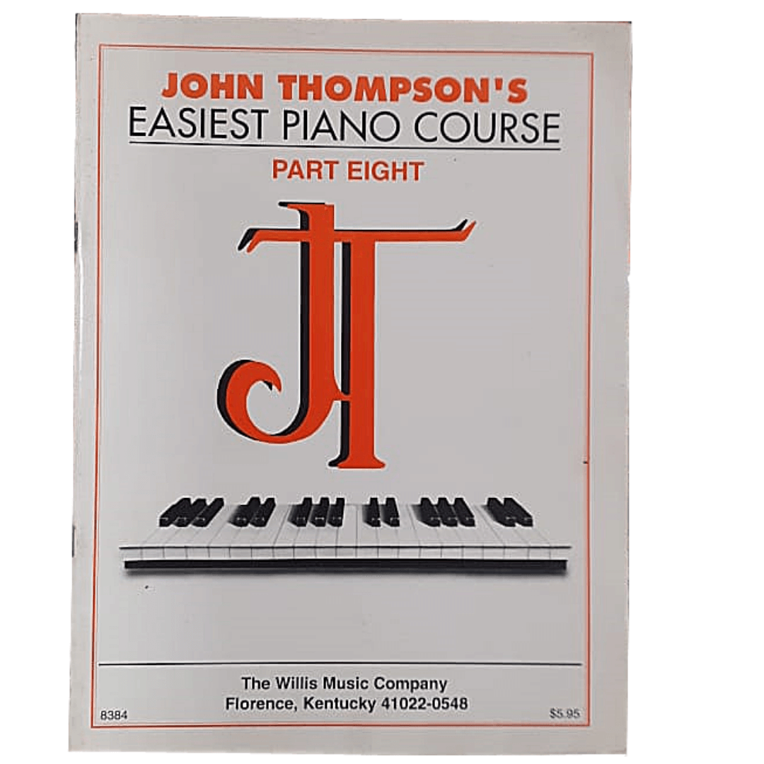 John Thompson's Easiest Piano Course - Parte Eight - 8384