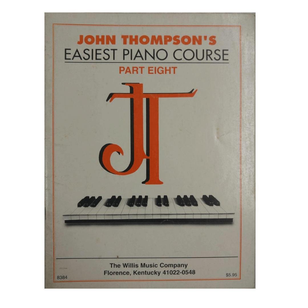John Thompson's Easiest Piano Course - Parte Eight 8 - 8384