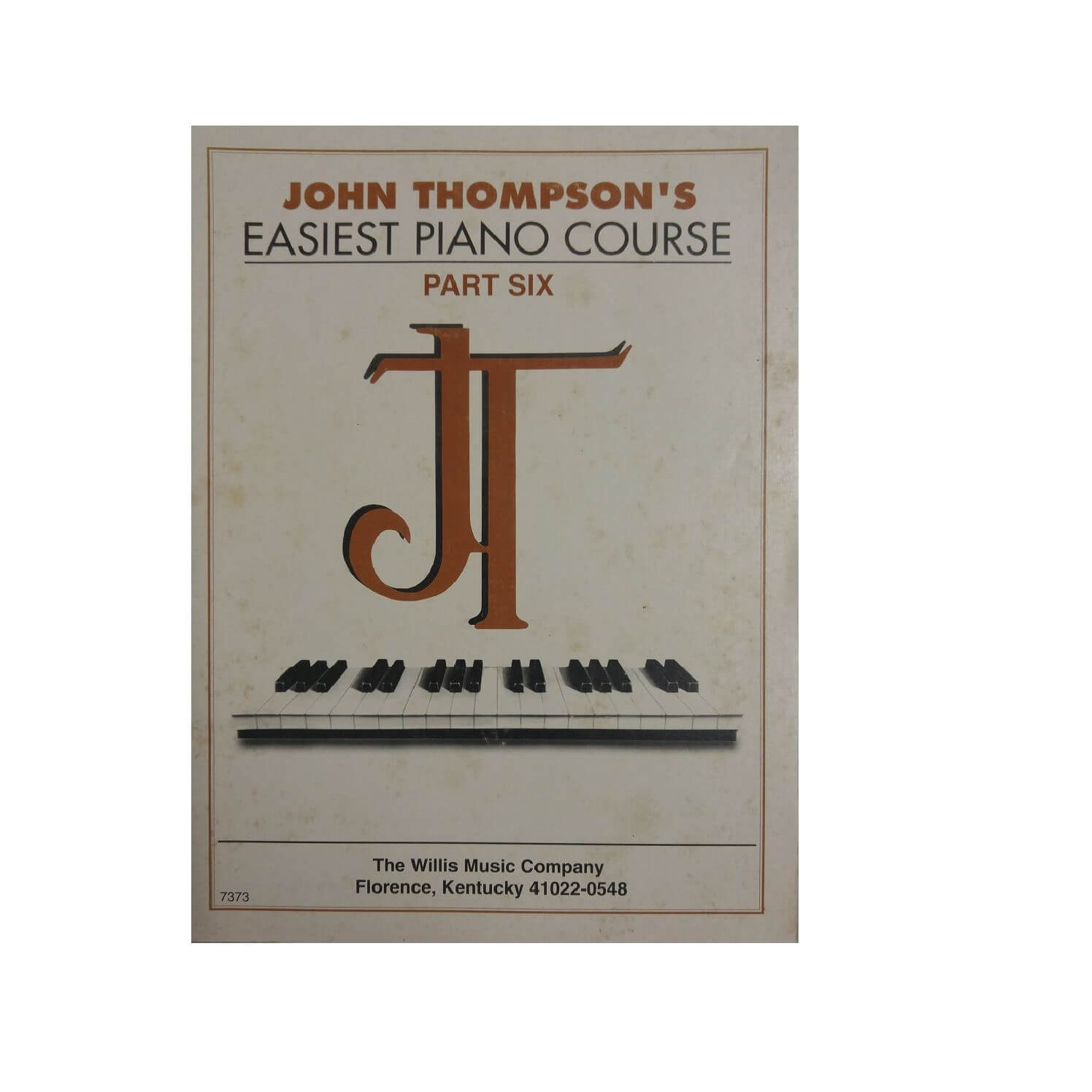 John Thompson's Easiest Piano Course - Parte Six 6 - Ref. 7373