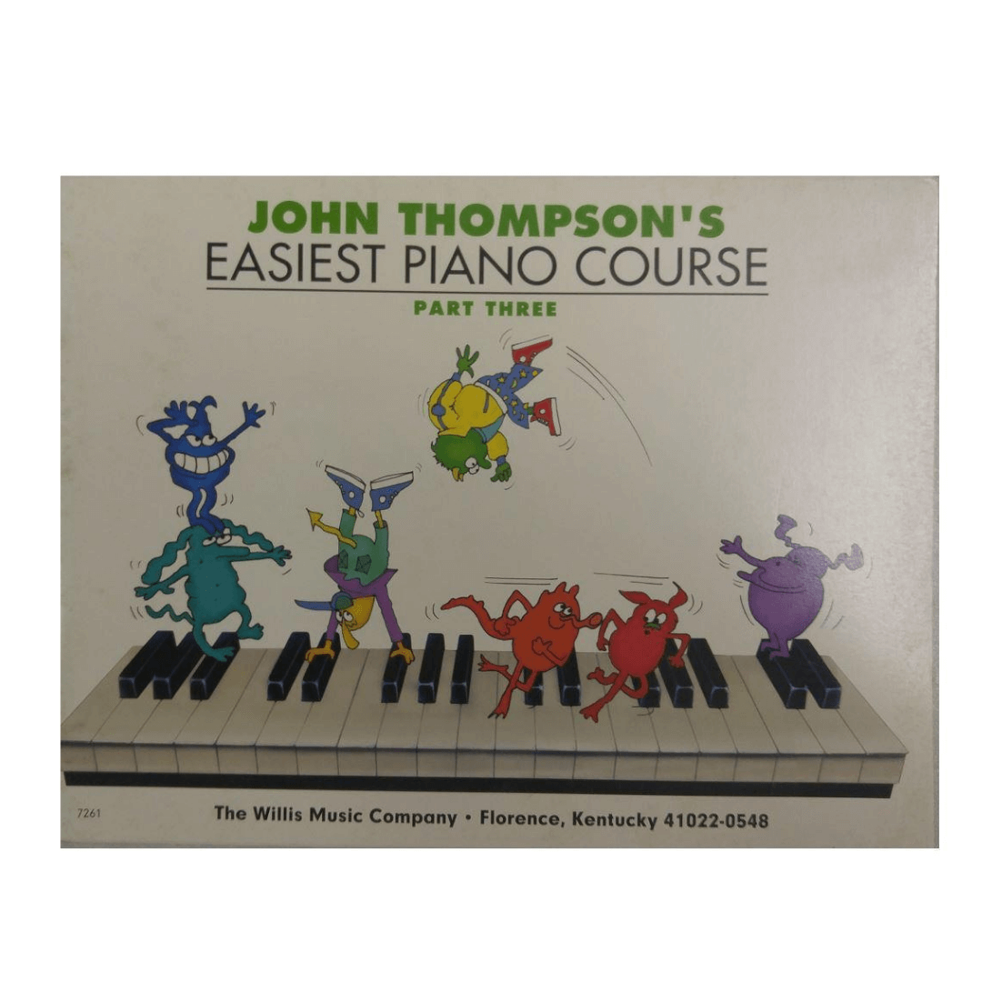 John Thompson's Easiest Piano Course - Parte Three 3 - HL0414019