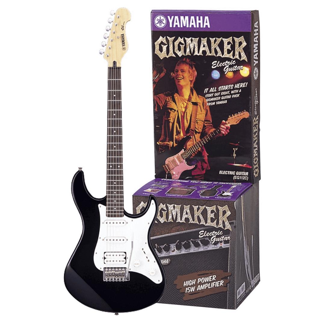 Kit Guitarra - Gigmaker Yamaha EG112GPII BL (Preto)