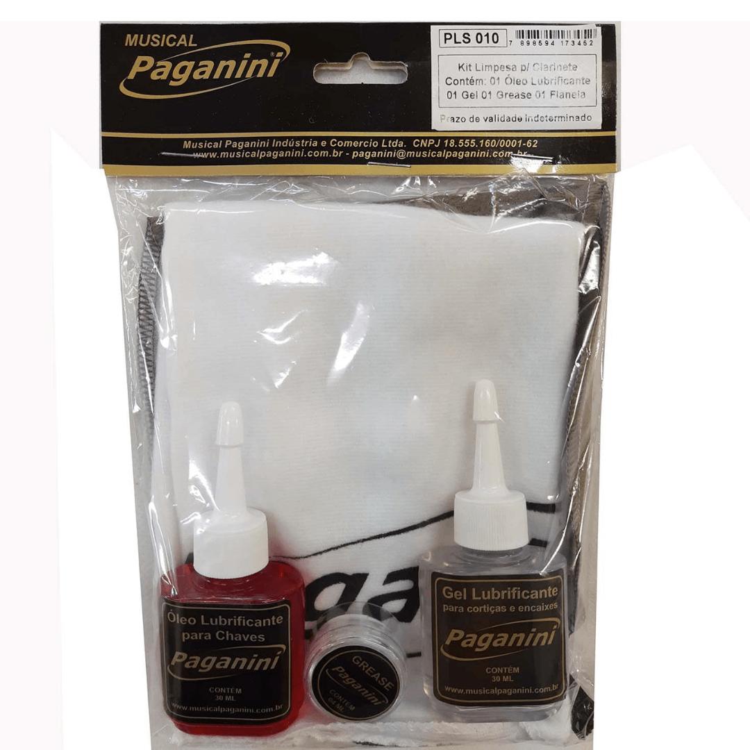 Kit Limpeza Para Clarinete Paganini PLS010