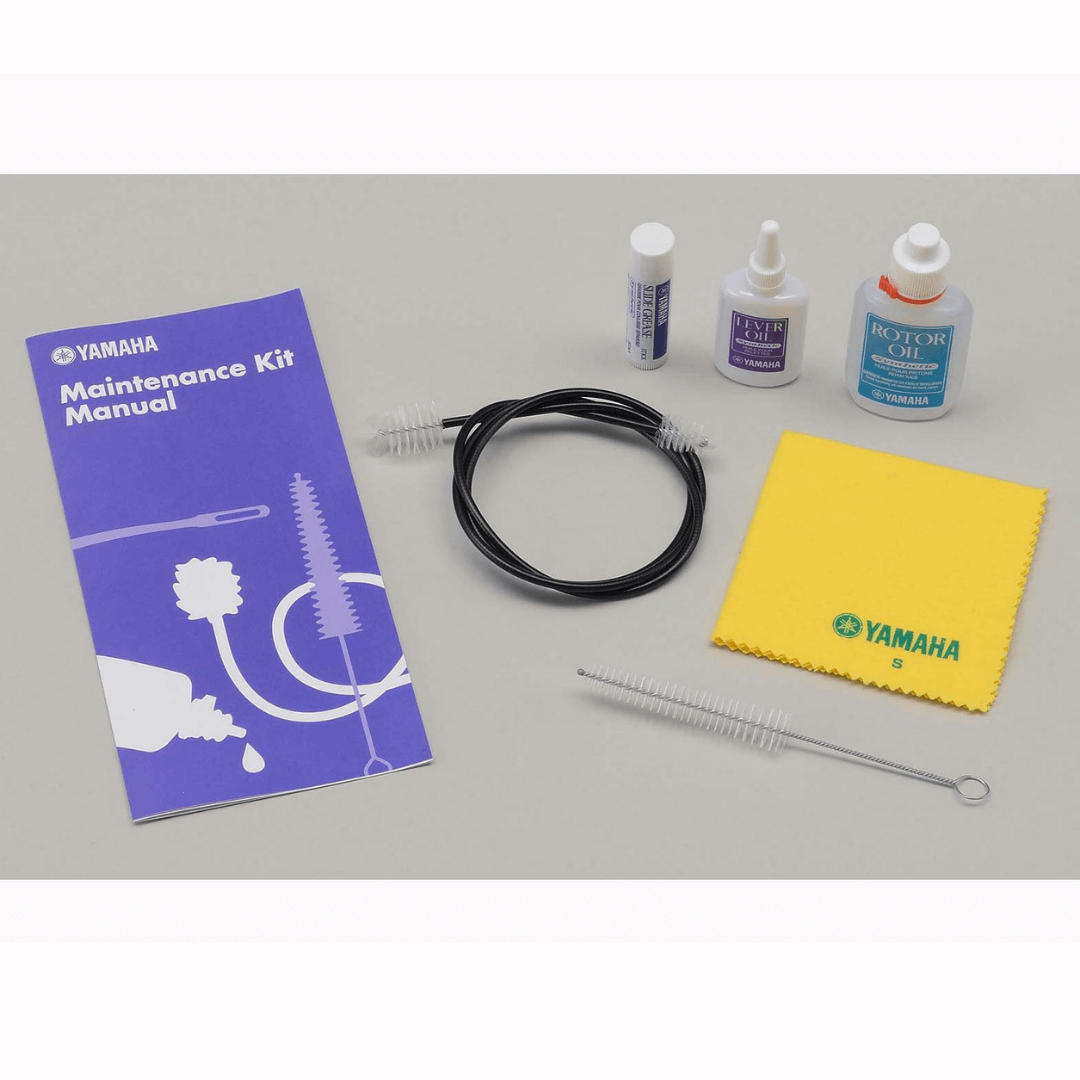 Kit Para Limpeza e Manutenção de Trompa Horn Yamaha YAC HRKIT