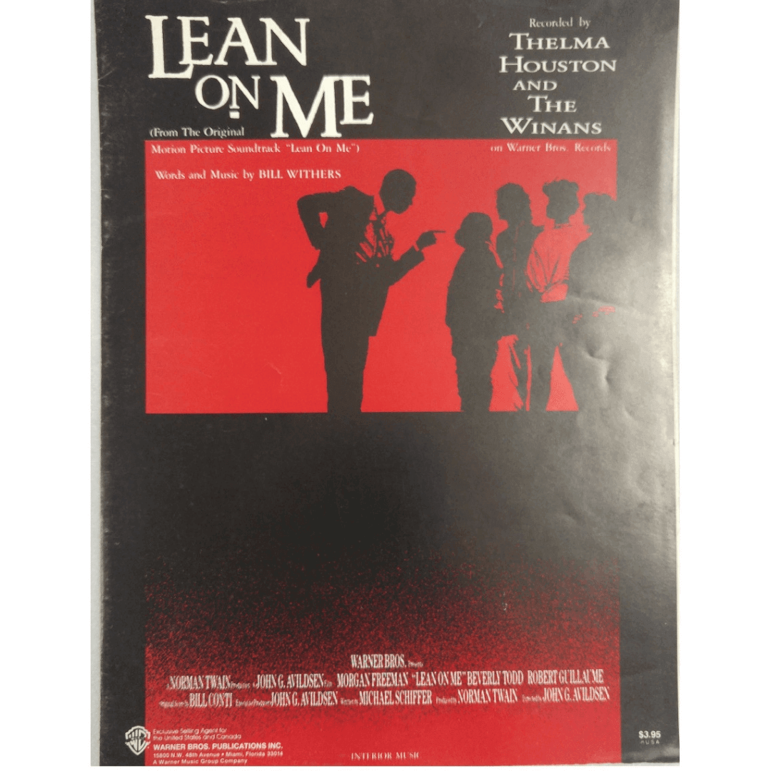 Lean On Me - Recorded by Thelma Houston and The Winans VS5270