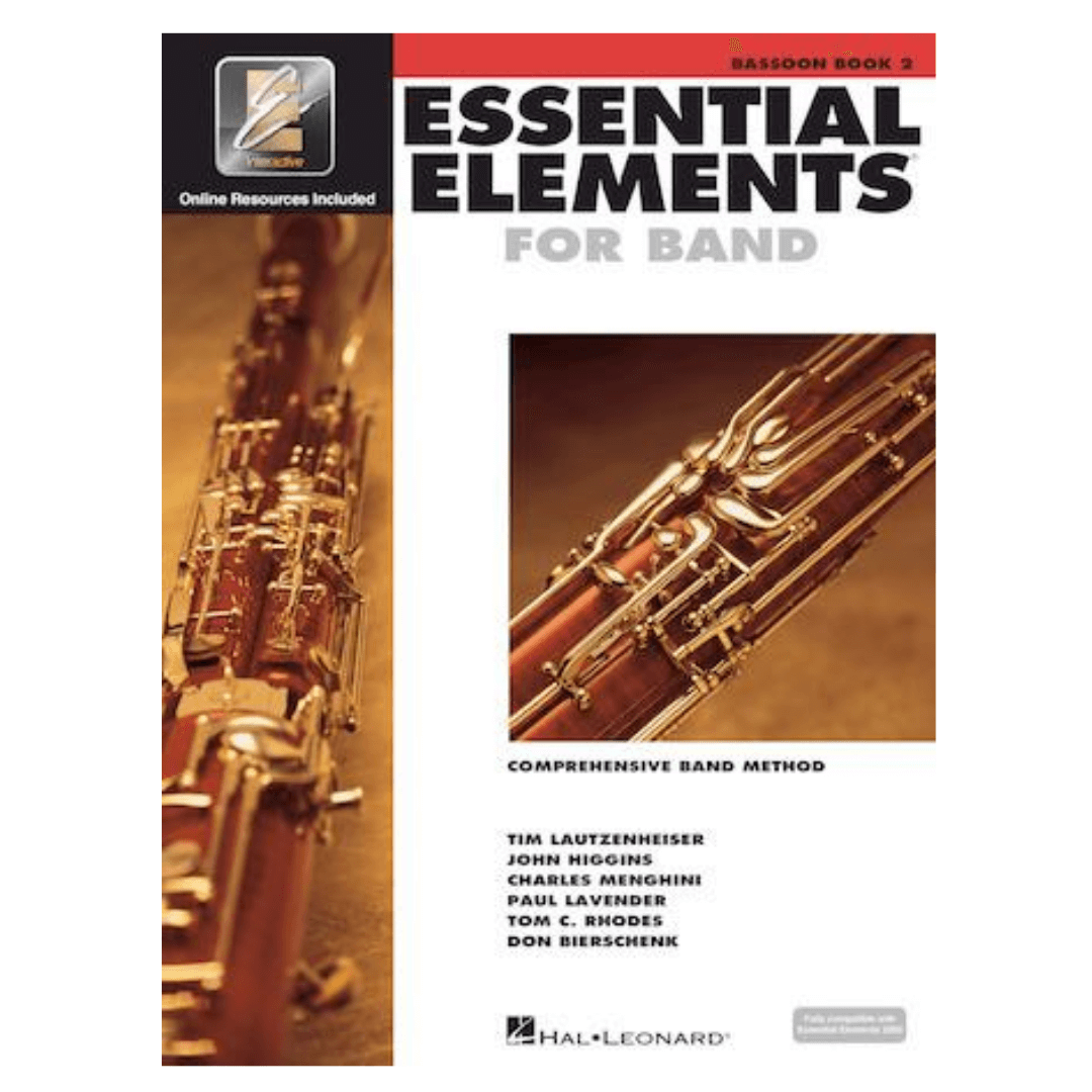 Livro Essential Elements for Band Comprehensive Band Method Bassoon Book 2 - Fagote HL00862590