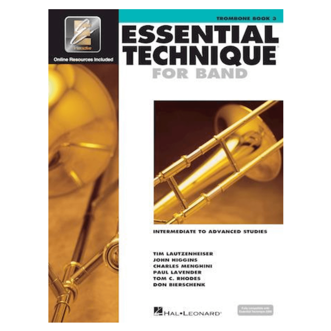 Livro Essential Technique For Band | Trombone Book 3 - HL00862628