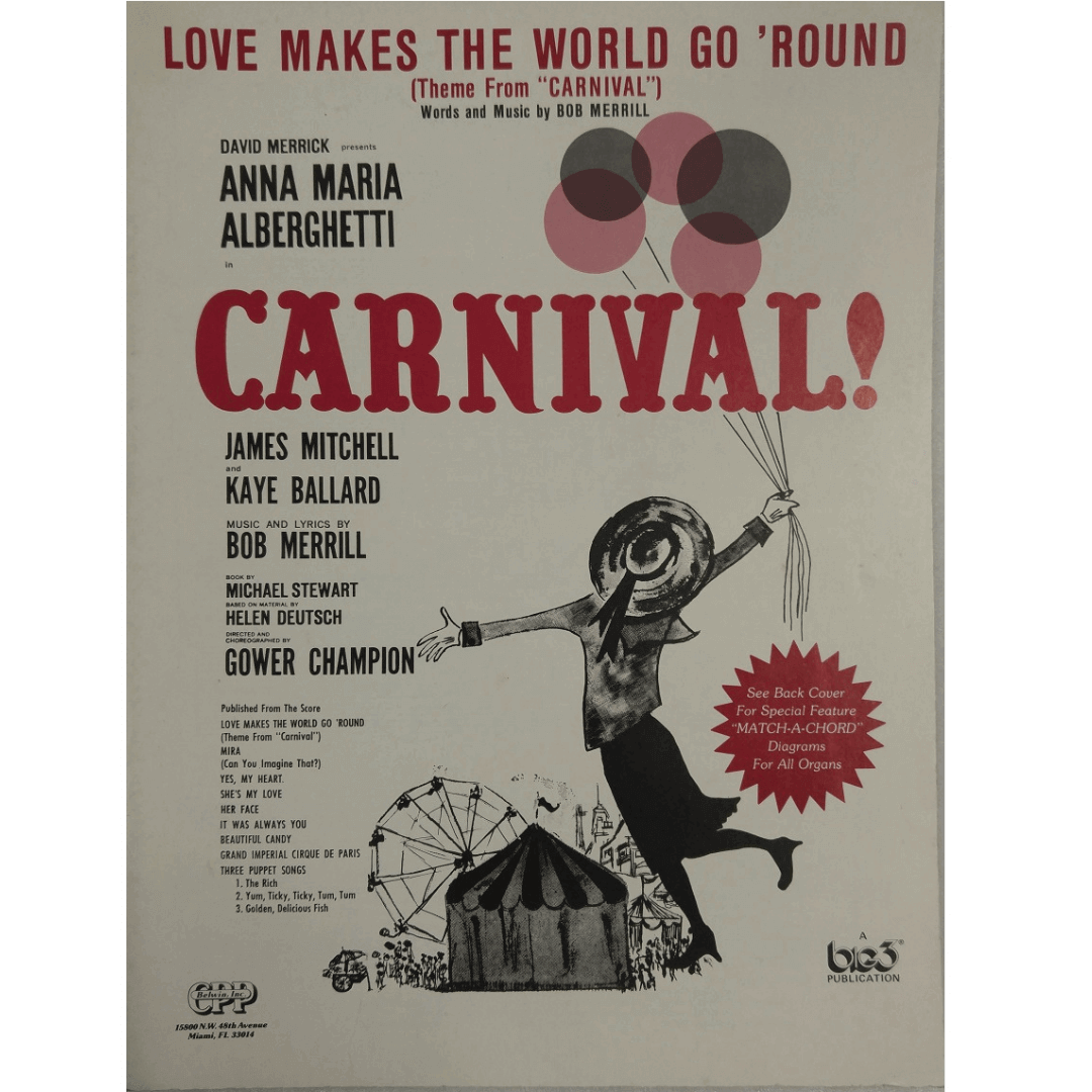 "Love Makes The World Go ' Round ( Theme From ""Carnival"" ) T8295LPV"