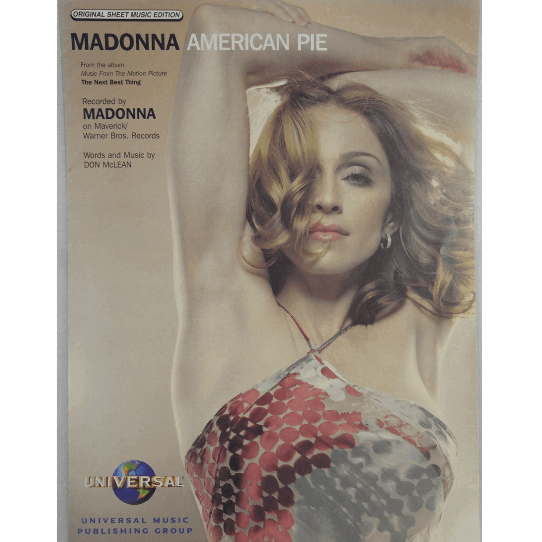 Madonna American Pie - From the album Music From The Motion Picture The Next Best Thing PVM00025