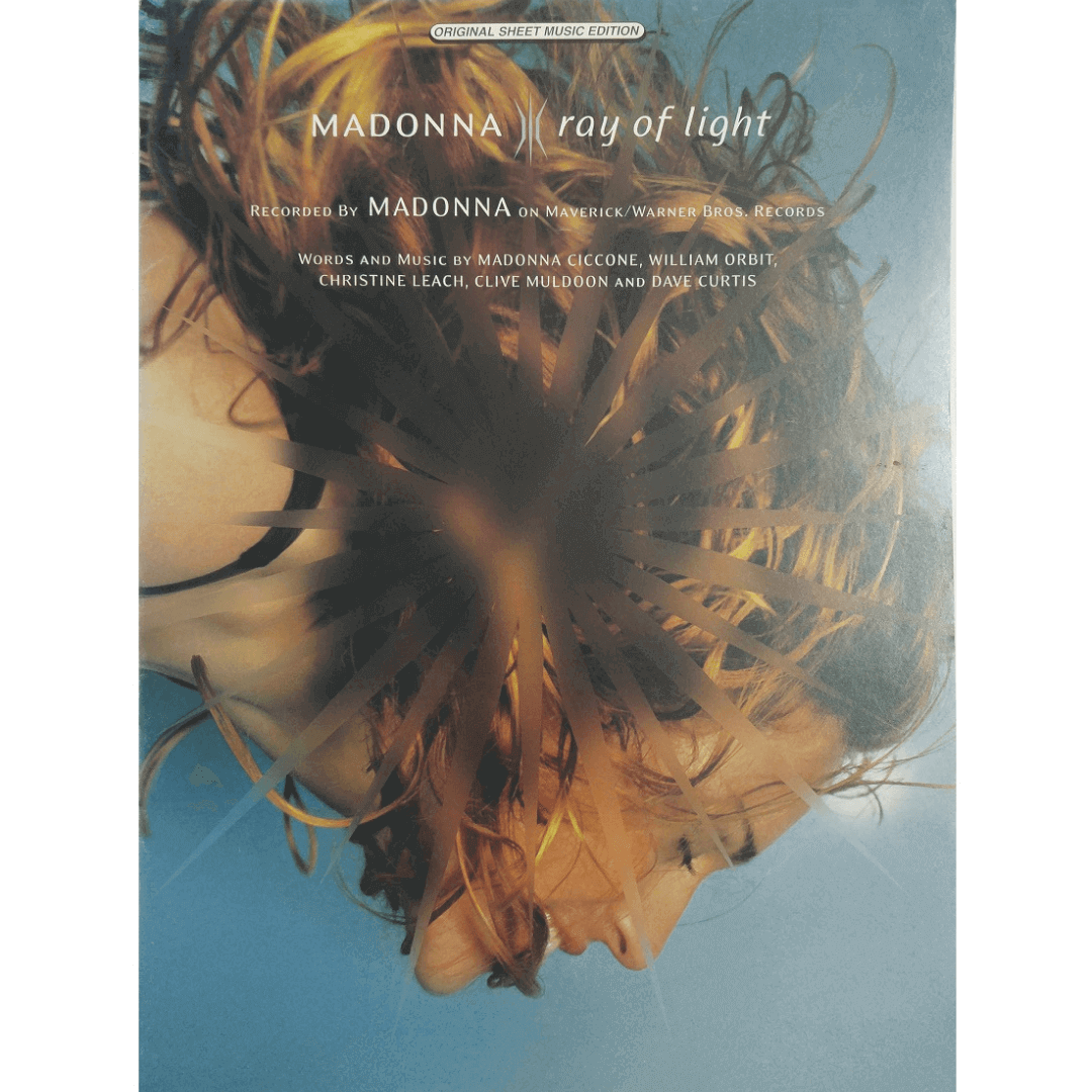 Madonna ray of light - Words and Music by Madonna Ciccone, William Orbit, Christine Leach - PV9871