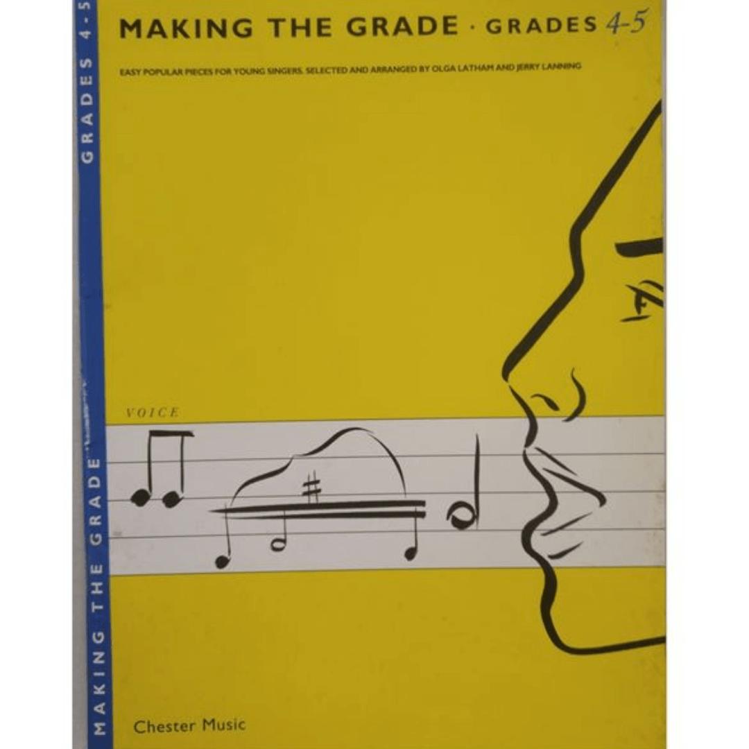 Making the Grade: Grades 4-5 Voice ( Fazendo as notas das notas 4-5 ) - CH61682
