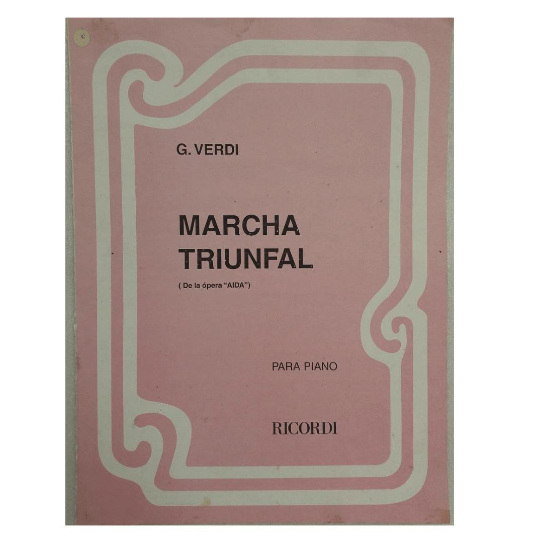 """Marcha Triunfal ( De la ópera """"AIDA"""") para Piano G.Verdi - BA6588"""
