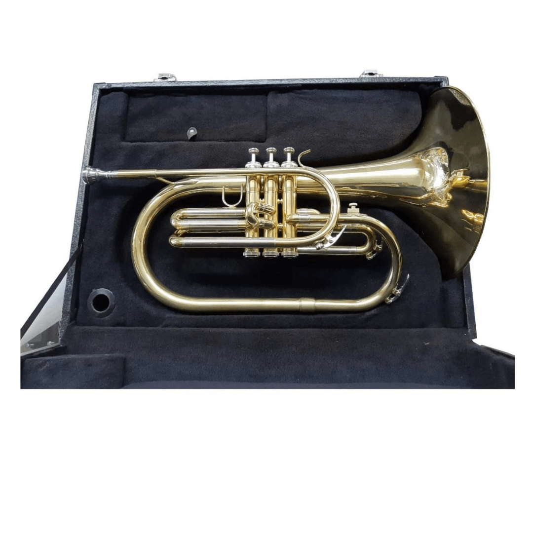 Melofone de marcha em Fá Laqueado Ascent ASFH750