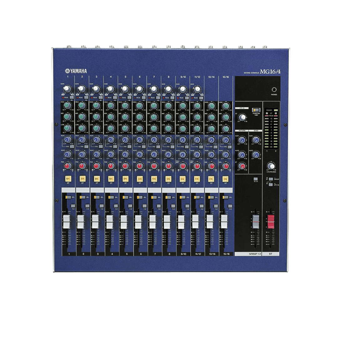 Mesa de som / Misturador Yamaha MG16/4 16-Input 4-Bus