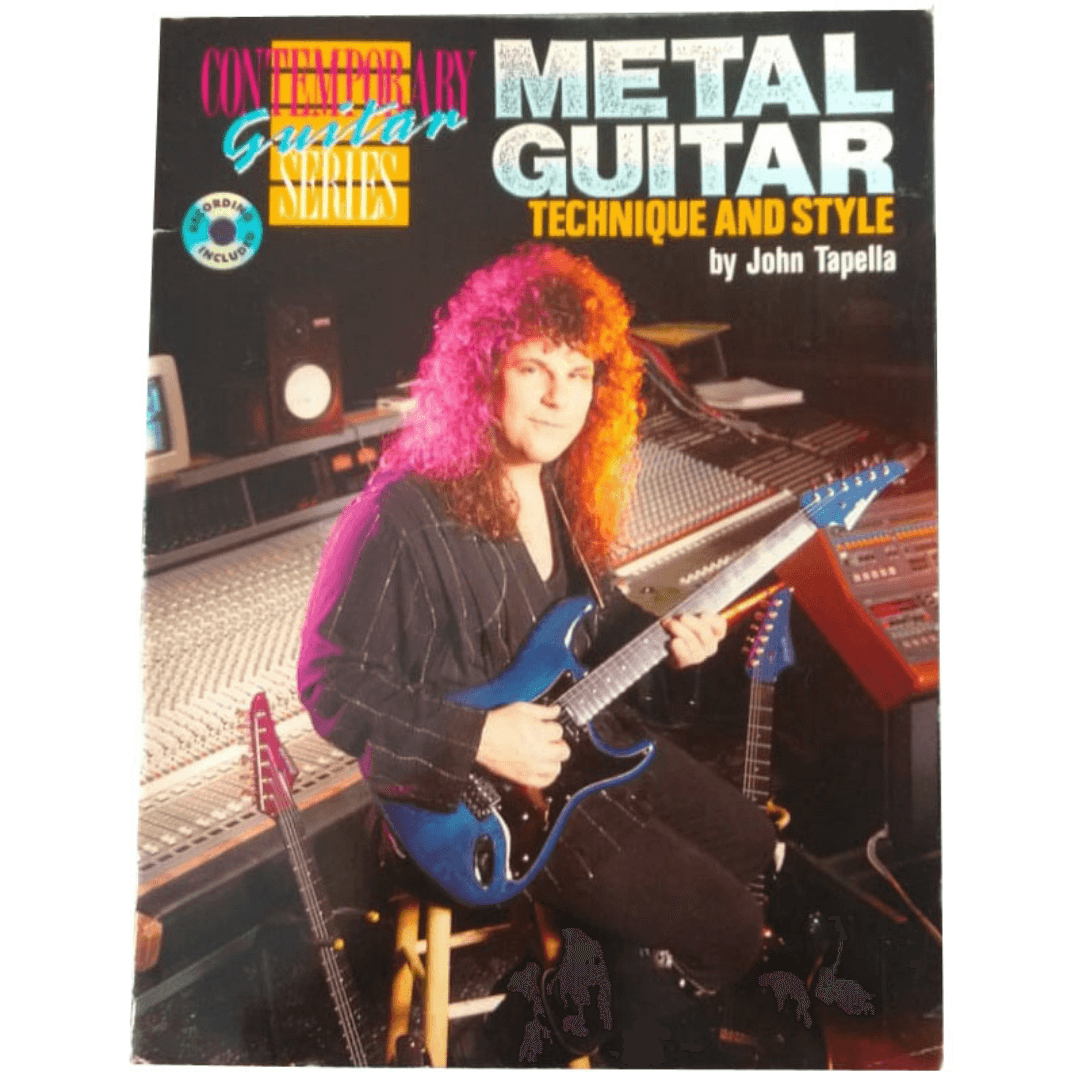 Metal Guitar Technique and Style: Book & CD (Contemporary Guitar Series) By John Tapella - F3203GTXC