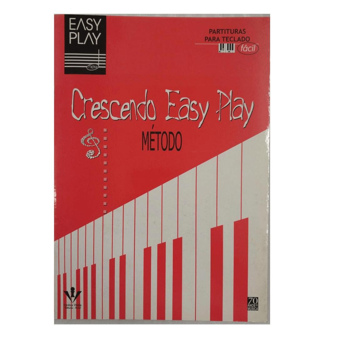MÉTODO CRESCENDO EASY PLAY - Partituras para Teclado - EP37
