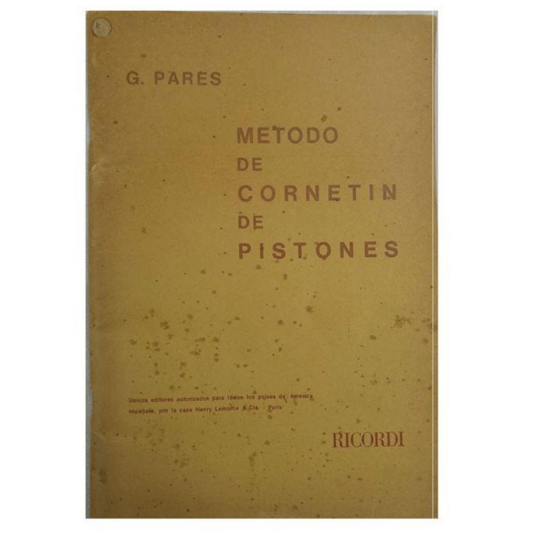Método de Cornetin de Pistones G. Pares BA10511