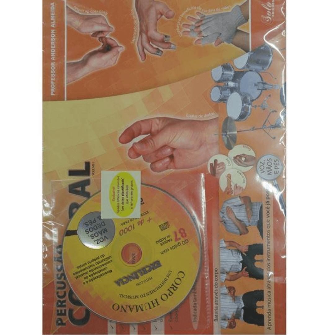 Método De Percussão Corporal Completo - Anderson Almeida ( Com CD )