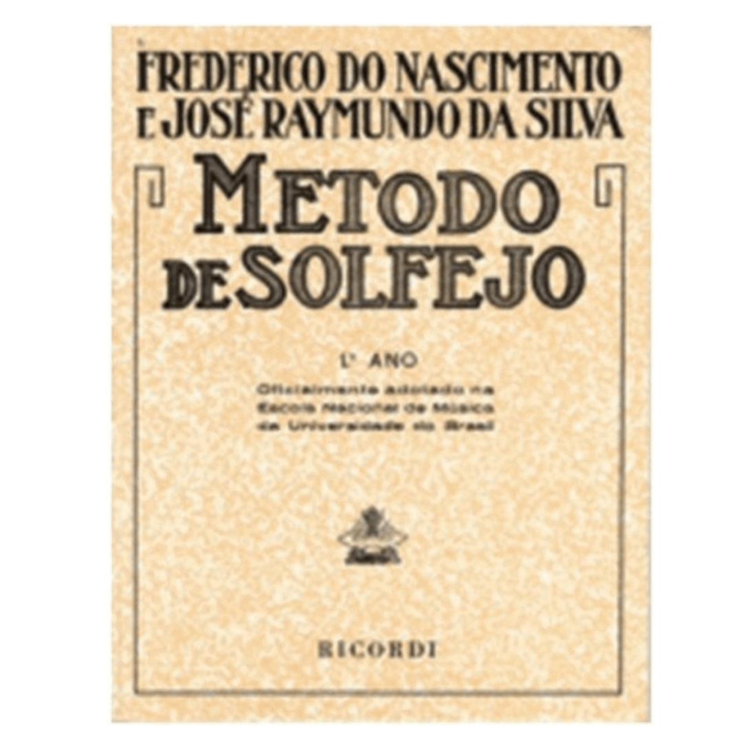 MÉTODO DE SOLFEJO - Vol. 1 - Frederico do Nascimento RB0053