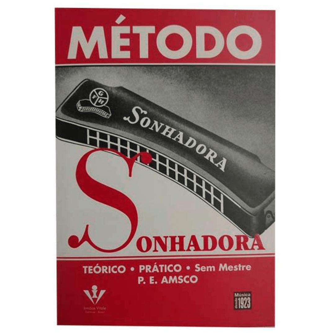 Método Gaita Sonhadora - Teórico, Prático - Sem Mestre P.E. Amsco - 32M