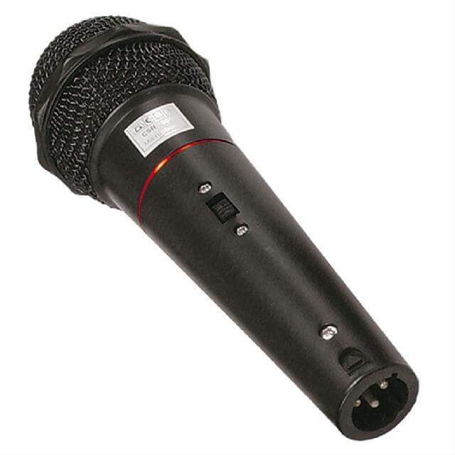 Microfone CSR 505 com fio de Mão Dinâmico