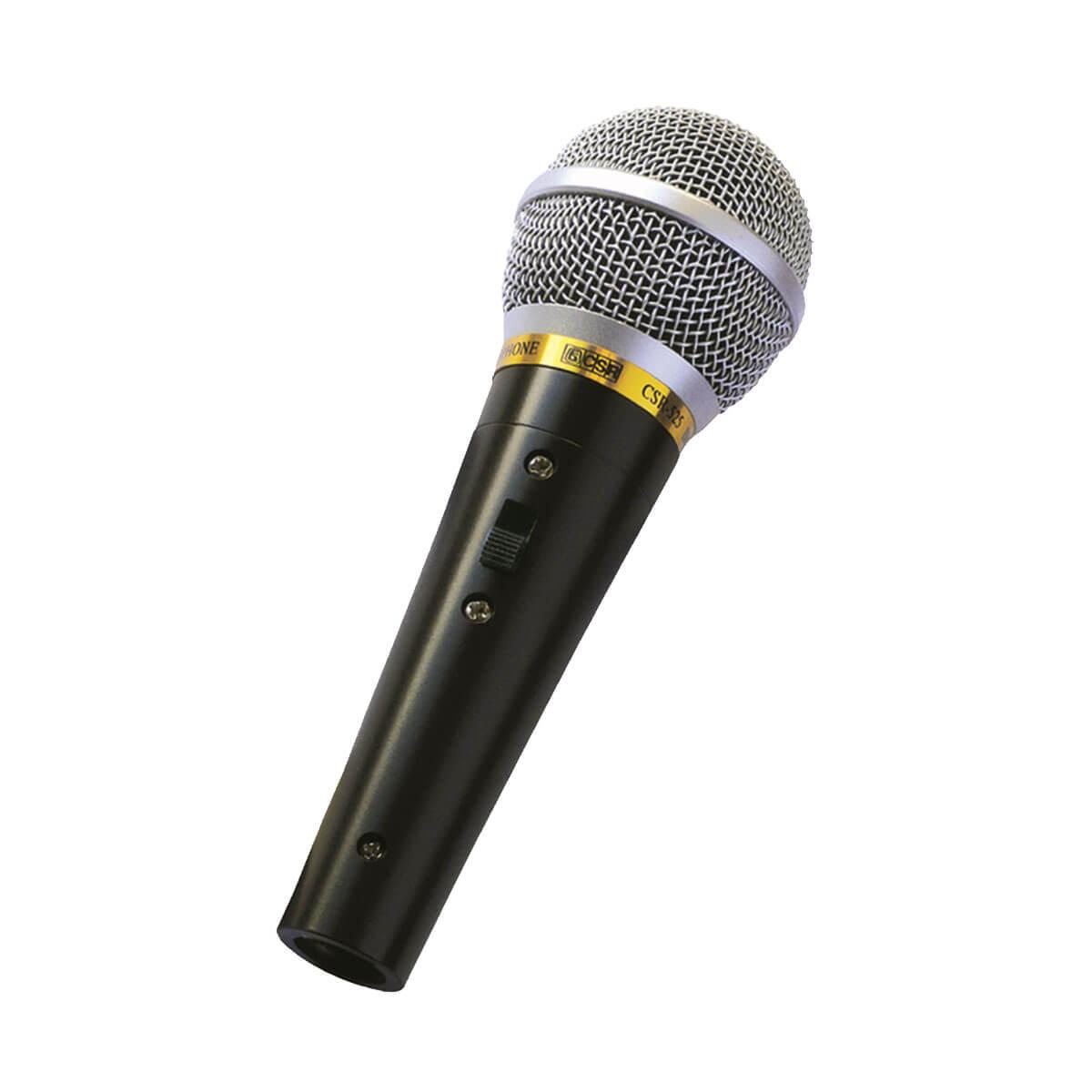Microfone CSR 525 com Fio de Mão