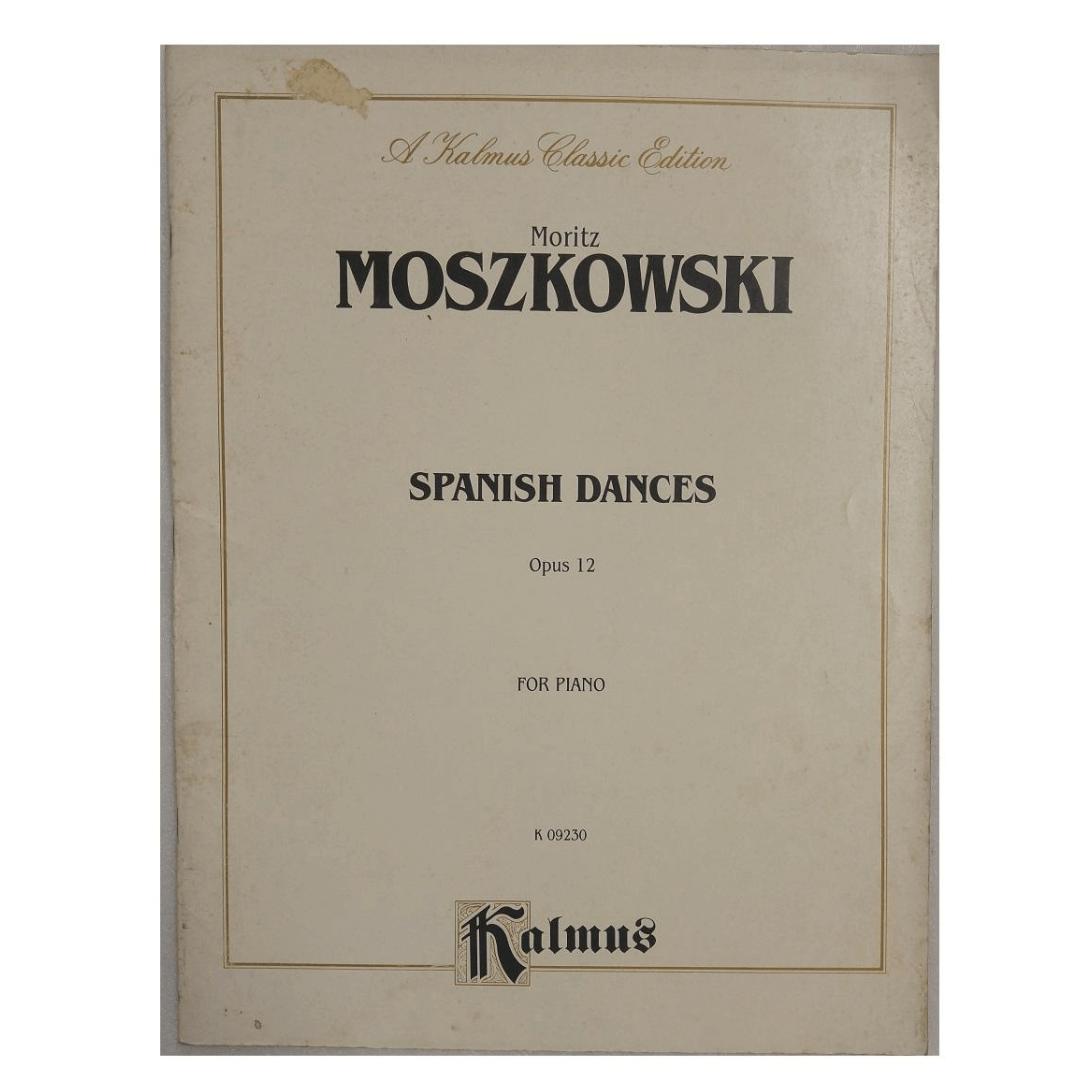 Moritz Moszkowski Spanish Dances Opus 12 for Piano K 09230 - Kalmus