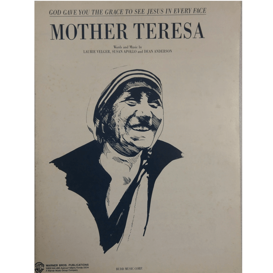 Mother Teresa - God Gave You The Grace To See Jesus In Every Face - PV97165