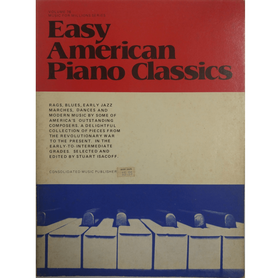 Music for Millions Series - Easy American Piano Classics Volume 76 - 040076