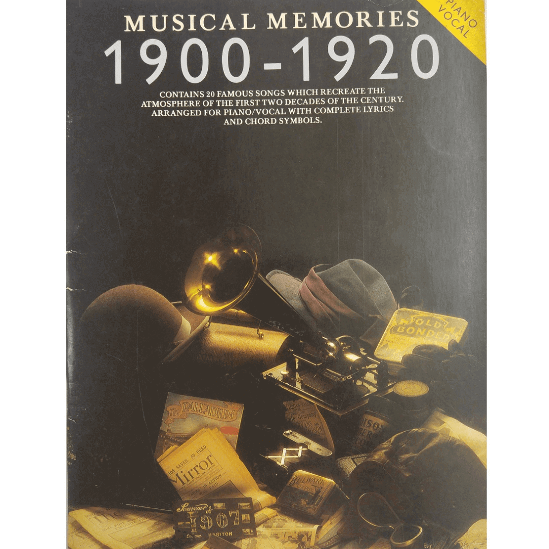 Musical Memories 1900 - 1920 Piano Vocal - AM32822