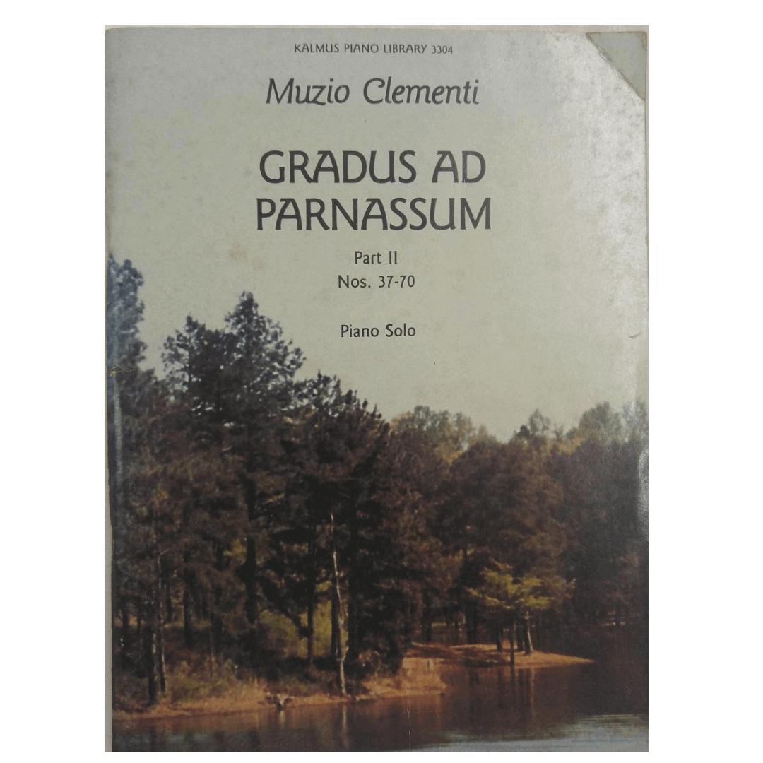 Muzio Clementi Gradus Ad Parnassum Part II Nos. 37-70 Piano Solo - Kalmus Piano Library 3304