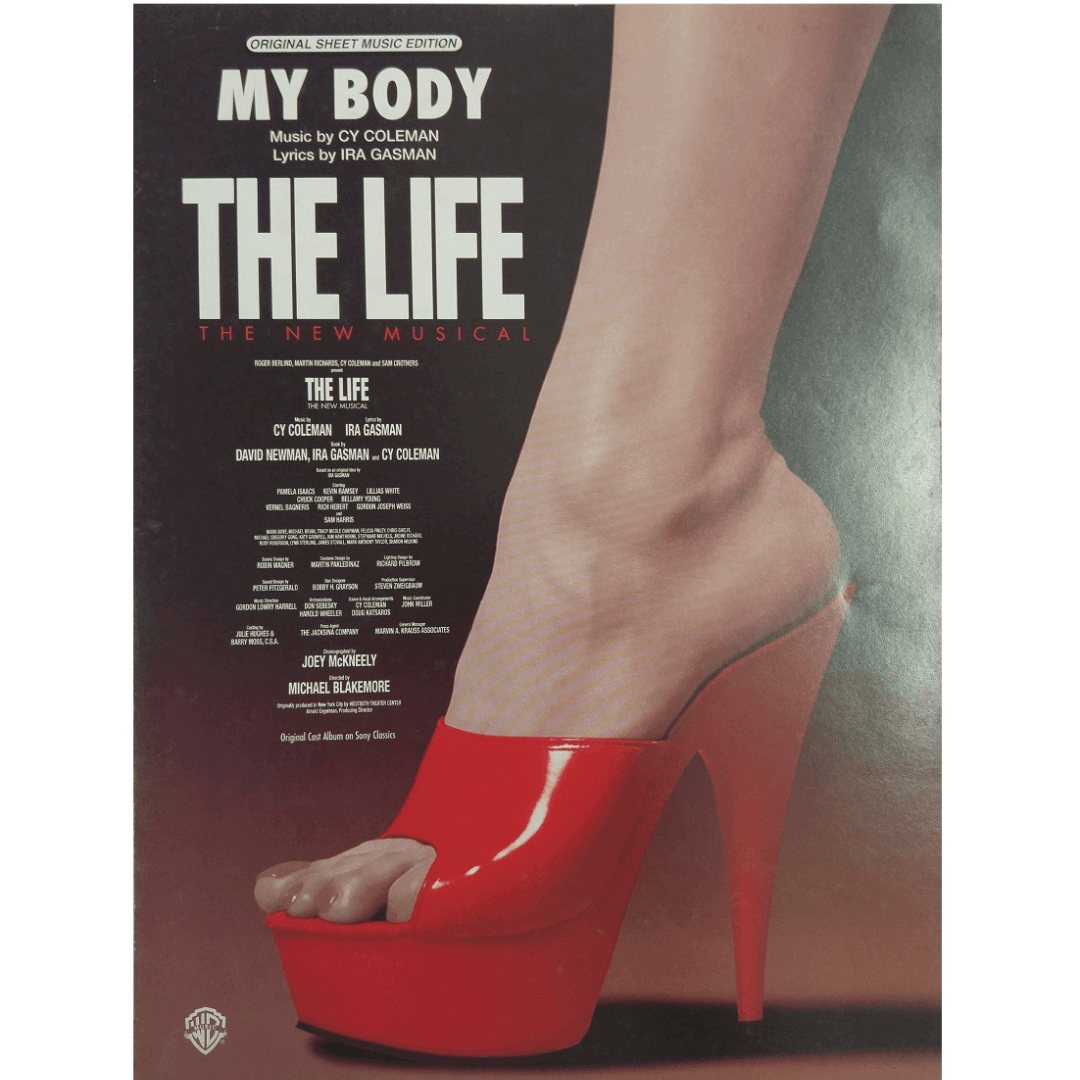 My Body Music by Cy Coleman / Lyrics by Ira Gasman - The Life - The New Musical - PV97110