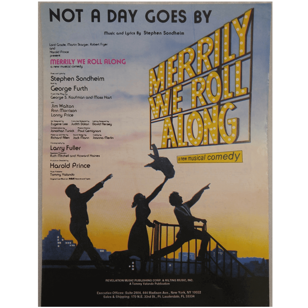 Not a Day Goes by / Merrily We Roll Along a New Musical Comedy VAL1013