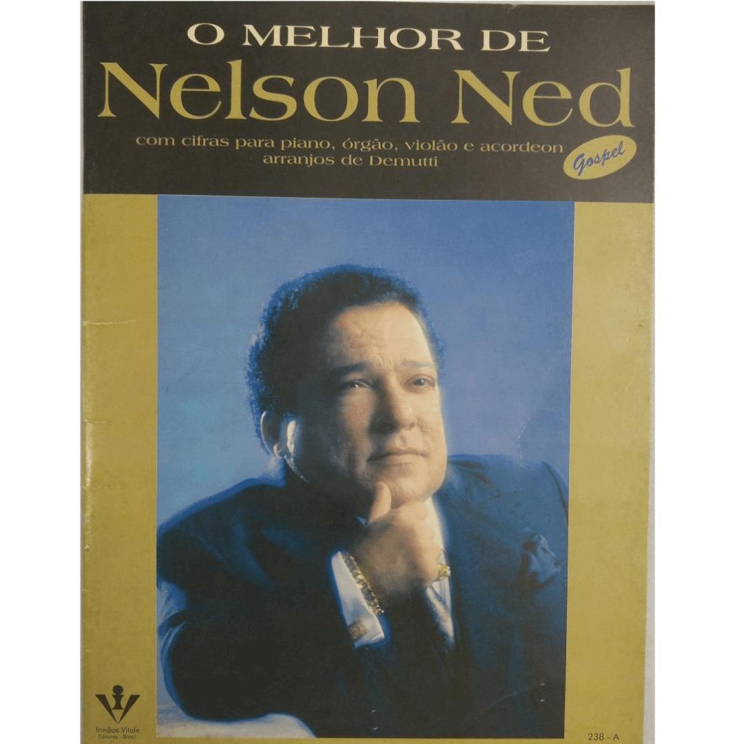 O Melhor de Nelson Ned com cifras para piano, órgão e acordeon arranjos de Demutti Gospel 238A