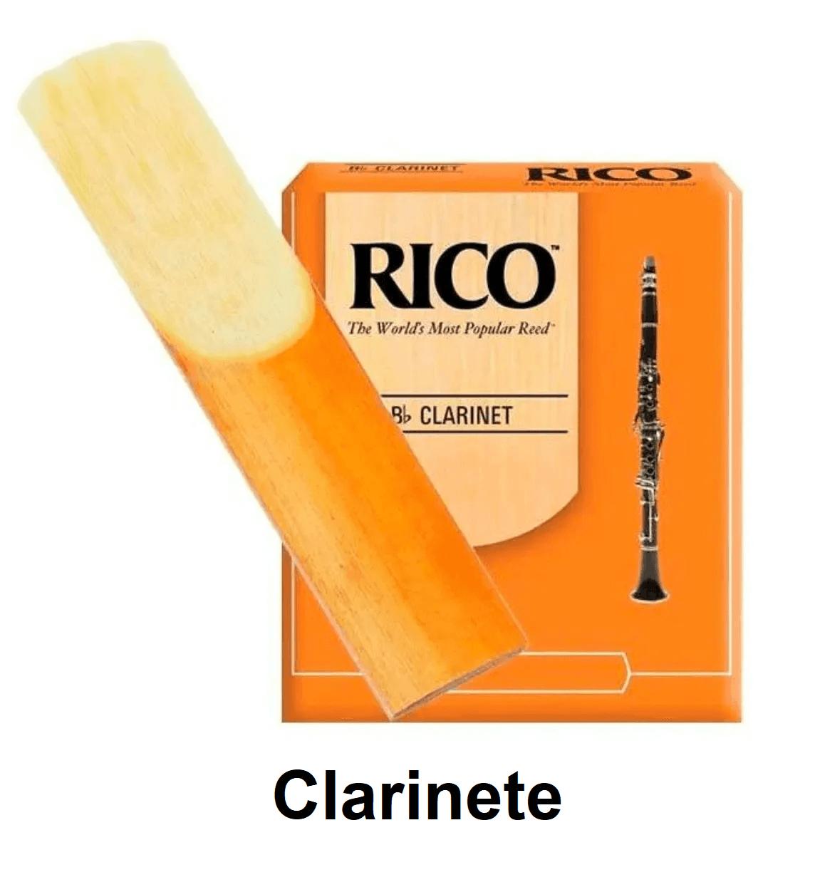 Palheta Rico para Clarinete