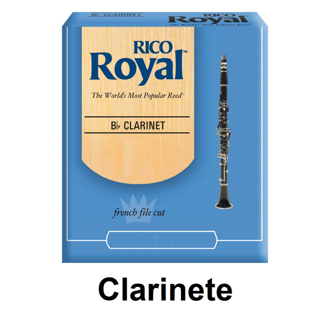 Palheta Rico Royal para Clarinete