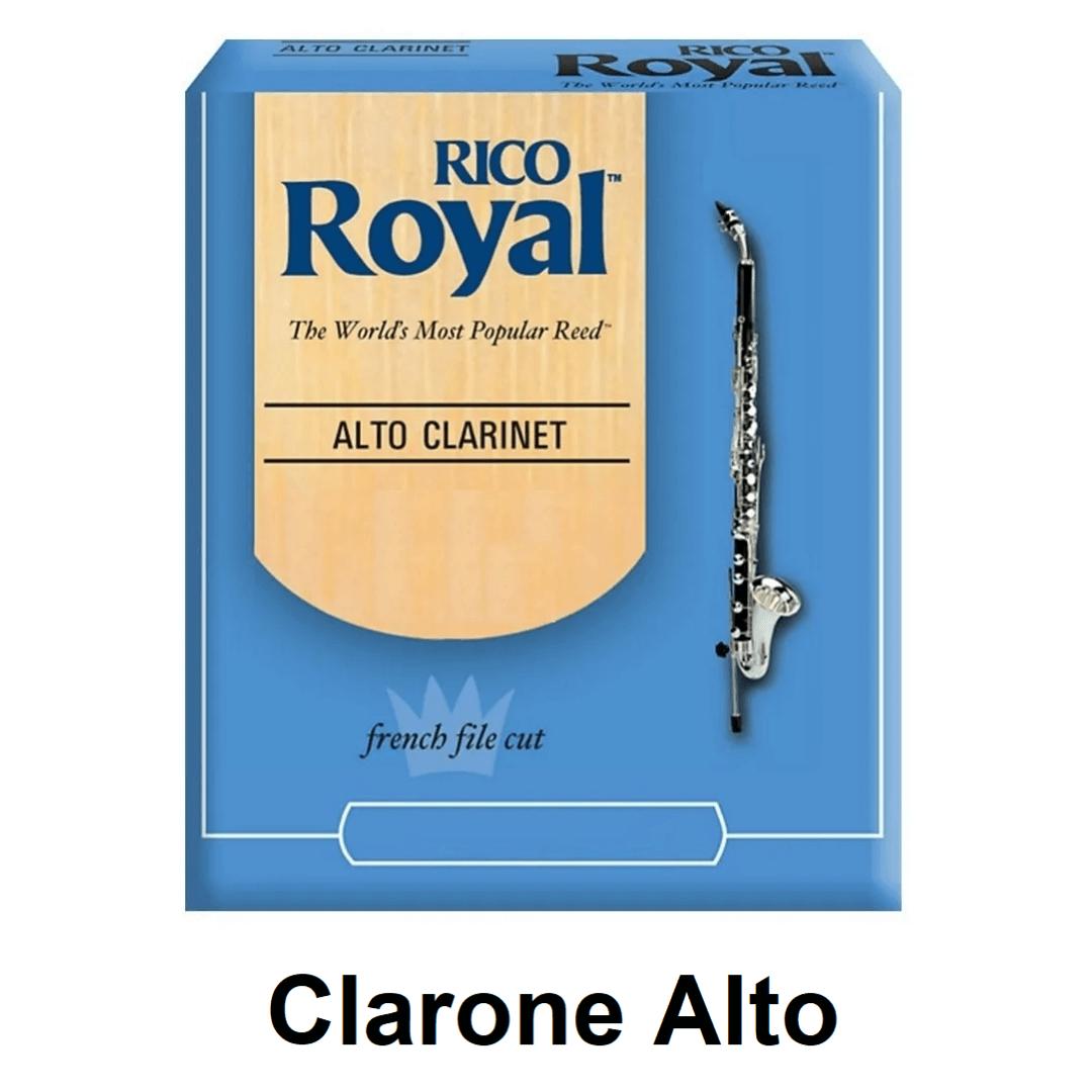 Palheta Rico Royal para Clarone Alto