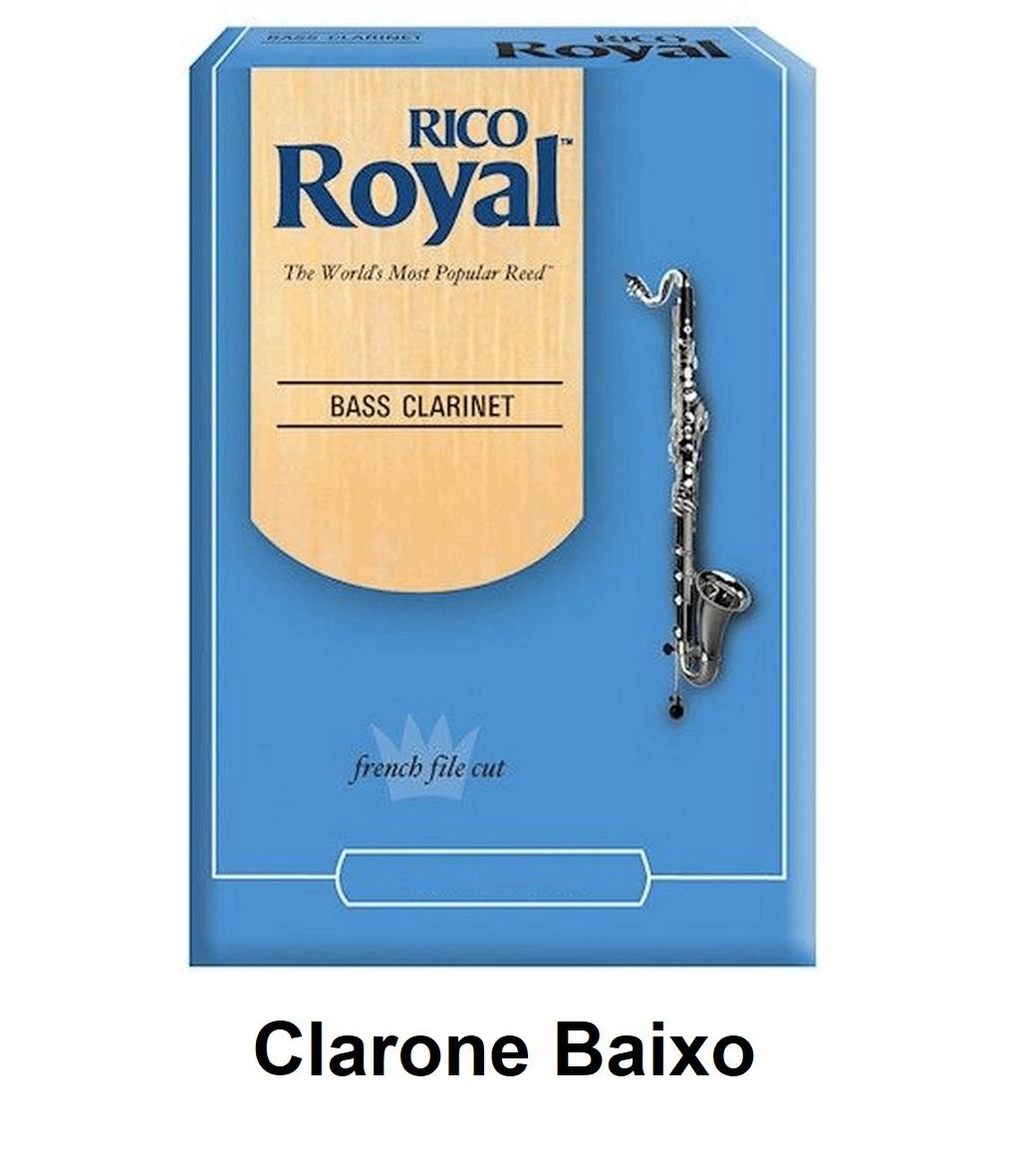 Palheta Rico Royal para Clarone Baixo