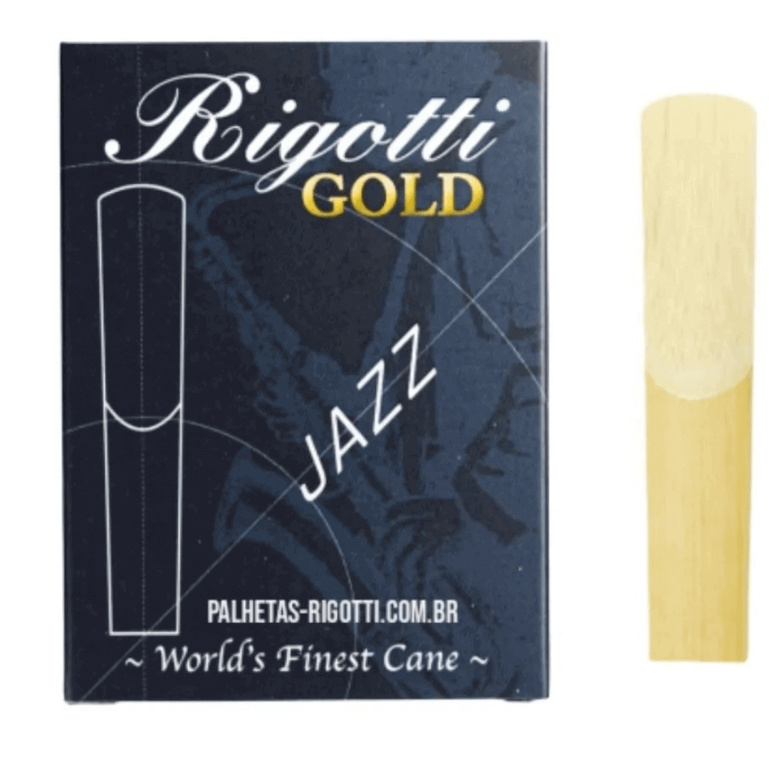 Palheta Rigotti Gold Jazz Sax Alto