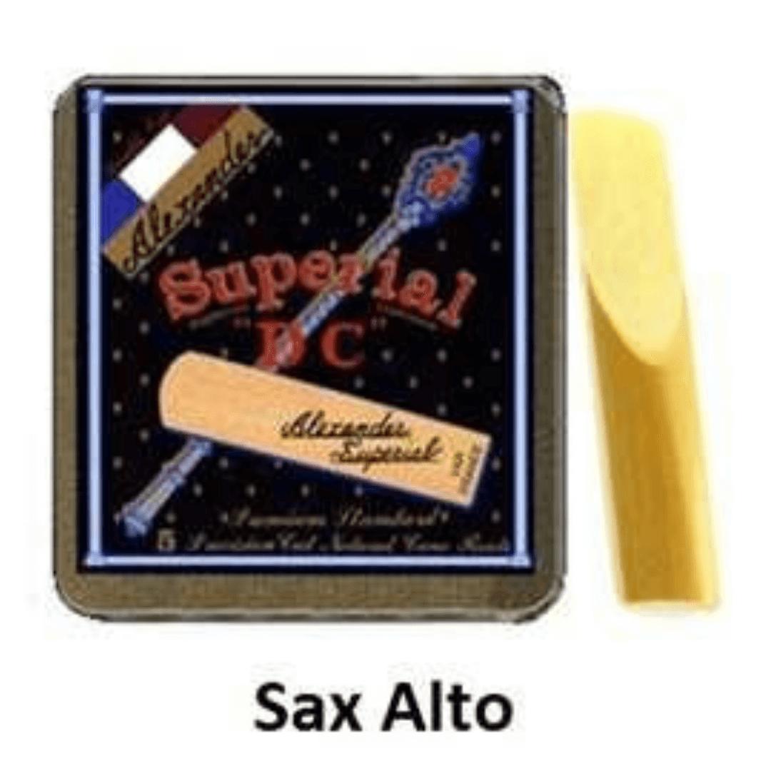Palheta Superial DC para Sax Alto