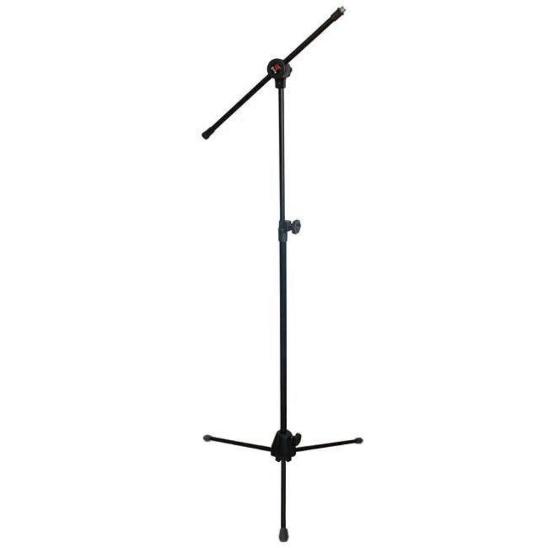 Pedestal Para Microfone Girafa com 1 Rosca Saty PMG10