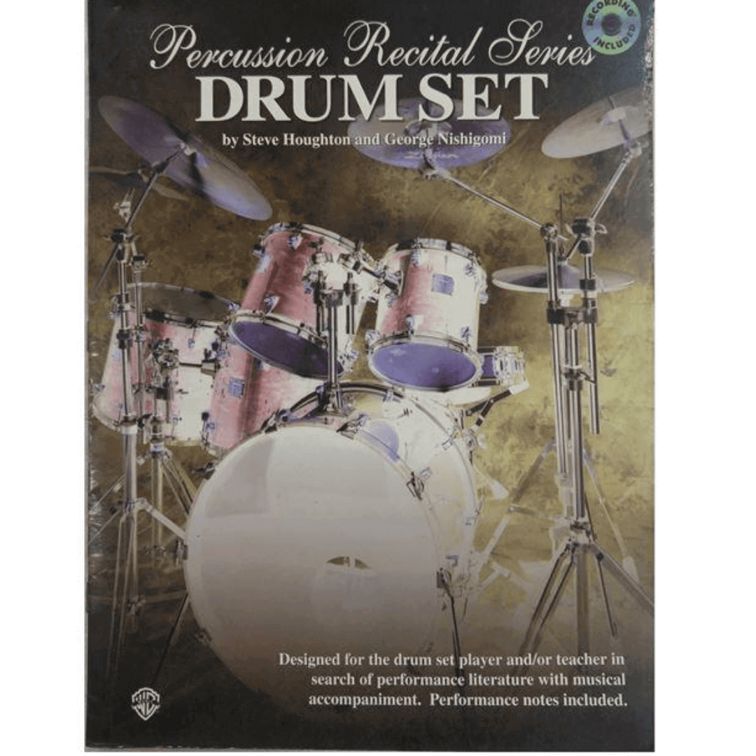 Percussion Recital Series Drum Set by Steve Houghton and George Nishigomi ( Com CD ) PERC9618CD
