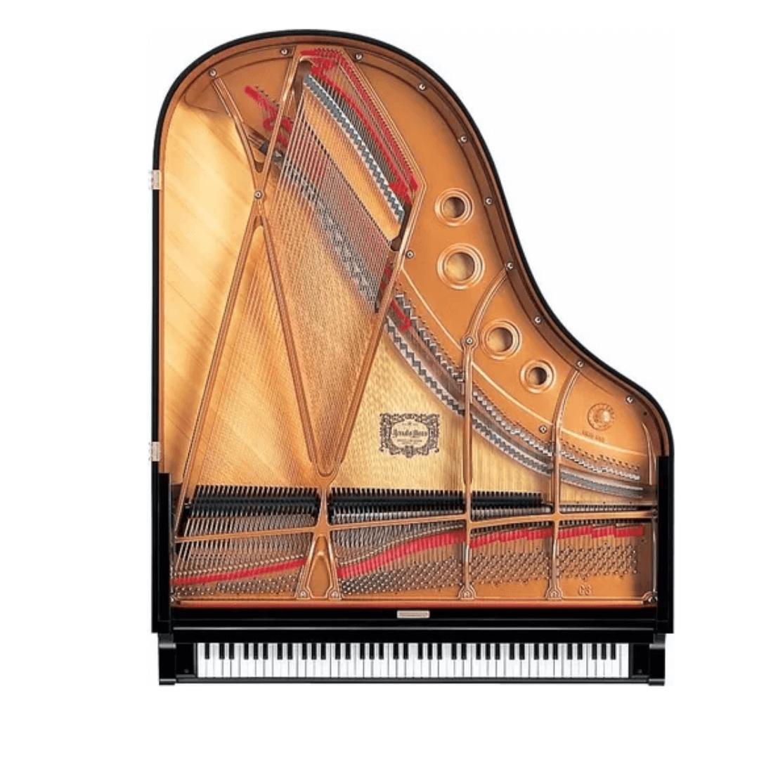 Piano de 1/2 Cauda Yamaha C3X PE Studio 186cm Preto Polido