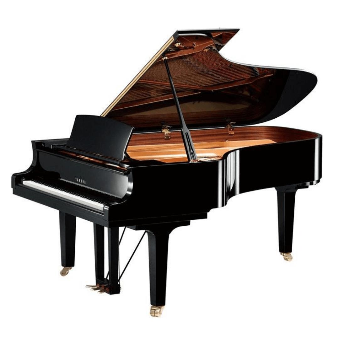 Piano de 3/4 Cauda Yamaha C7X PE 227cm Preto Polido