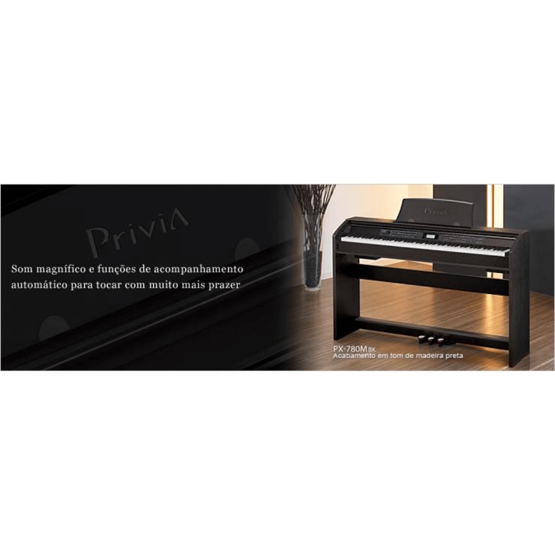 Piano Digital Casio Privia PX780MBK