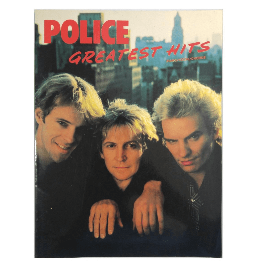 Police - Greatest Hits Piano, Vocal, Chords HL00490533