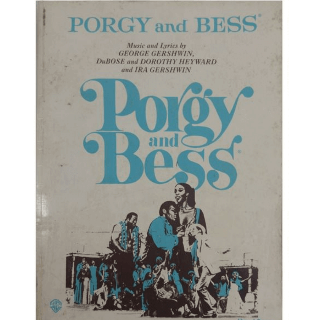 PORGY and BESS Music and Lyrics by George Gershwin, DuBOSE and DOROTHY HEYWARD - Vocal Score VF1958
