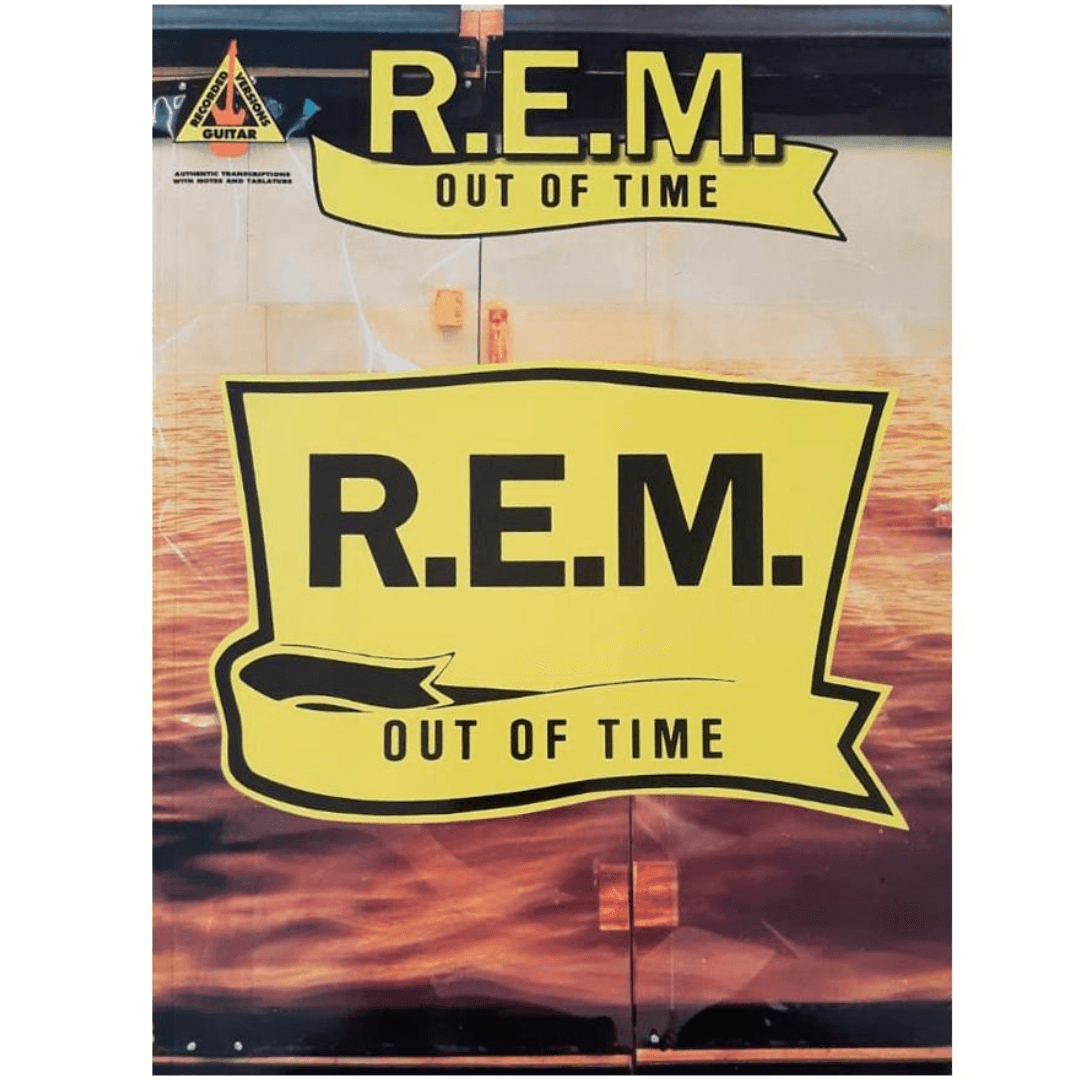 R.E.M Out Of Time - Guitar Recorded Versions - HL00694907