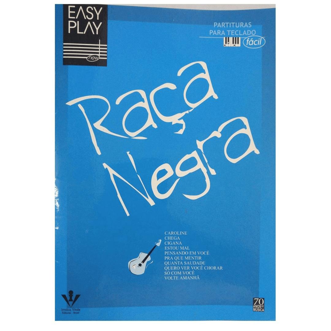 Raça Negra Partituras para Teclado Fácil - Easy Play EP26
