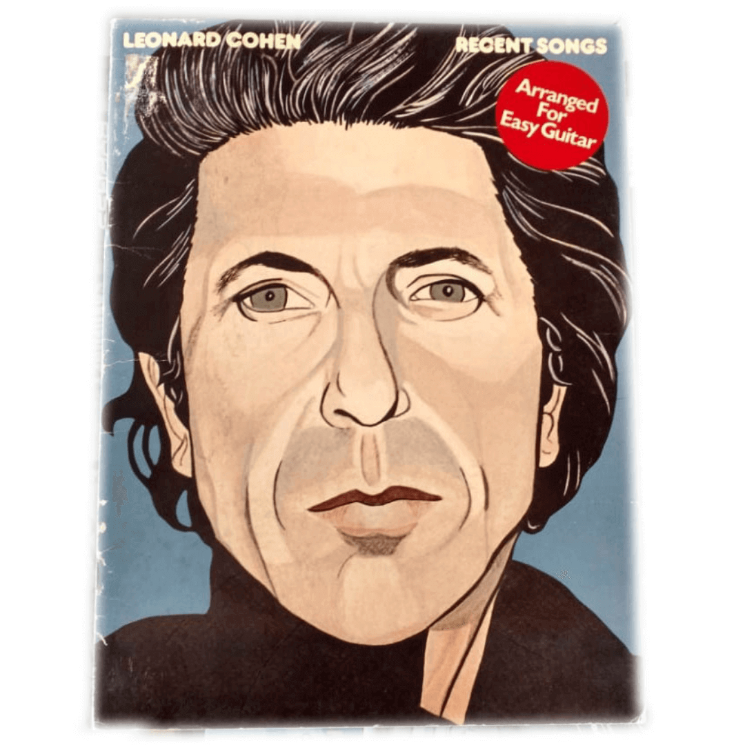 Recent Songs Arranged For Easy Guitar - Leonard Cohen - AM26006